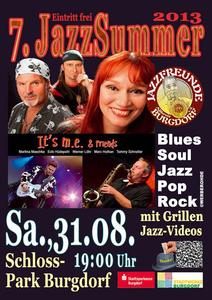 'It's M.E. & Friends' am 31.08. 2013 in Burgdorf