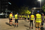 Skate by night - Pause auf der Expo-Plaza.