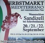 HERBSTMARKT MEDITERRANO IN SANDIZELL 20., 21., 22. September 2013