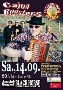'Cajun Roosters' am 14.09. 2013 in Burgdorf