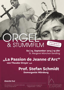 STUMMFILM & ORGEL in St. Margaret