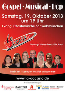 La Occasio Jahreskonzert - Gospel - Musical - Pop