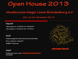 Magic Lions -- Open House 2013--