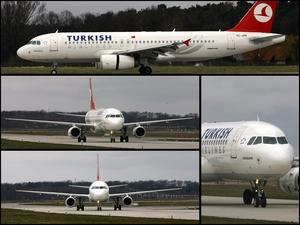 Collage, Airbus A 320   'TÜRKISH AIRLINES'