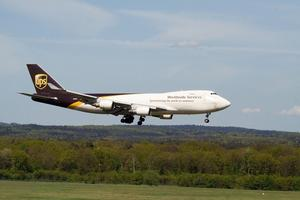 N580UP – Paketjumbo Boeing 747