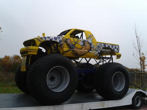 Monster Truck Show in Fronhausen/Lahn