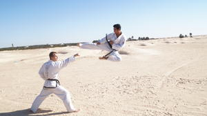 Afrika Twin Taekwondo Camp in Tunesien