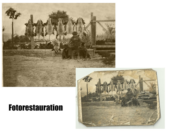 bildbearbeitung, fotorestauration