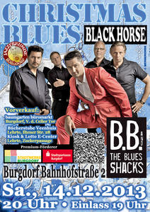 5. Christmas Blues mit B.B. & The Blues Shacks in Burgdorf