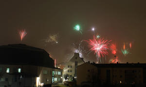 Happy New Year | Feuerwerk | Silvester