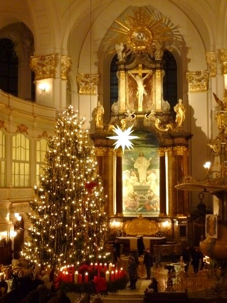weihnachten in der st michaelis kirche hamburg. Black Bedroom Furniture Sets. Home Design Ideas