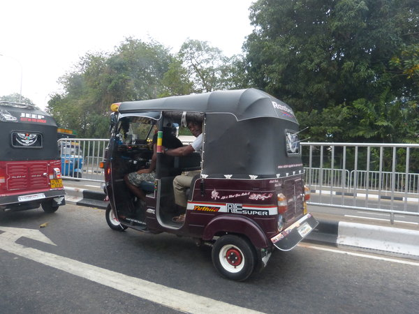 Tuk-Tuk in Colombo.
