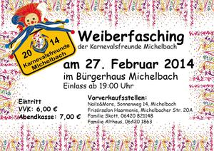 12. Weiberfasching in Michelbach