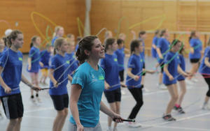 Rope Skipping beim TSV Friedberg in den Osterferien!