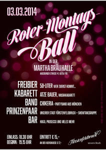 Roter Montagsball