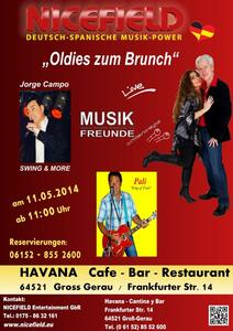 Oldies zum Brunch, die Evergreen Show!