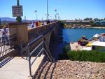. . . an der London Bridge, in Lake Havasu City am Colorado River . . .