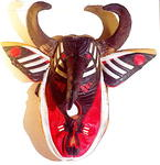 Krampusmaske (Homage to Brian Jungen and Adidas)
