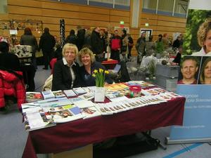 Informationsstand Multiple Sklerose am 23.11.2014 in Rattelsdorf