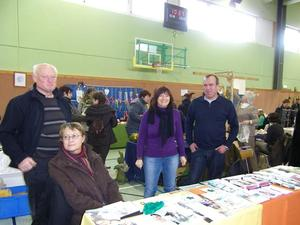 Informationsstand Multiple Sklerose am 09.11.2014 in Oberkotzau
