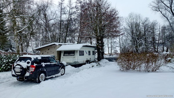 winter, wetter, camping, wintercamping