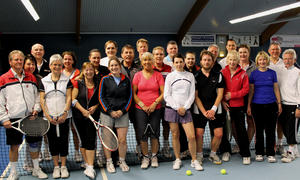Tennisclub Godshorn spielt Winter-Mixed-Turnier