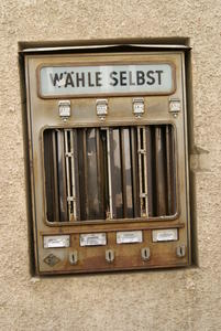 Alter Automat in Lauterbach