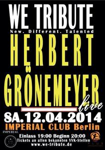 Neue Berliner Konzert-Reihe 'We Tribute' - New. Different. Talented!