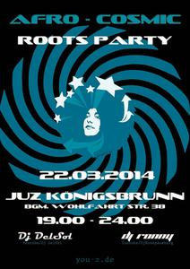 Afro Cosmic Roots Party im YouZ