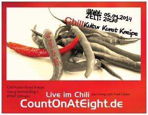 CountOnAtEight - Pop turns into Jazz im Chili