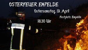 Osterfeuer Empelde 2014