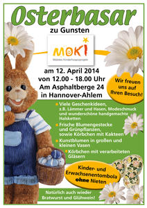 Osterbasar in Hannover-Ahlem 12. April 2014