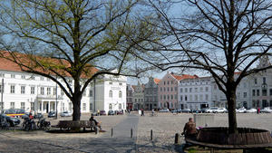 Top-Aussichtsplatz in Wismar