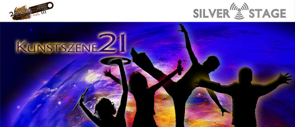 "SILVER-STAGE CHARITY CONCERT VOL.3  ""FIVE TO FIVE /ART MEETS MUSIC"" Konzert mit Vernissage"
