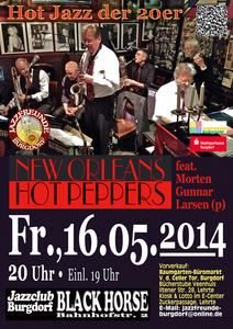 New Orleans Hot Peppers feat. Morten Gunnar Larsen in Burgdorf