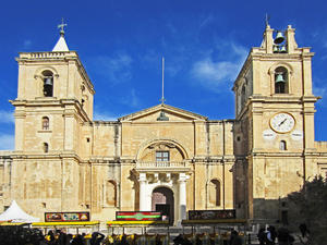 Unsere Reise um die Welt. 24.12.2013 Valletta St. John´s Co-Cathedral - Malta. 3. Video.