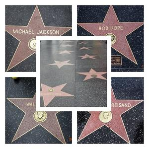 Gesehen in Hollywood - Walk of Fame