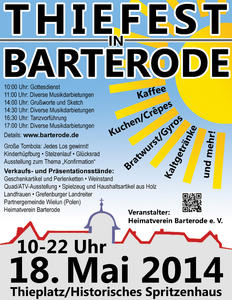 18. Mai 2014: Thiefest in Barterode