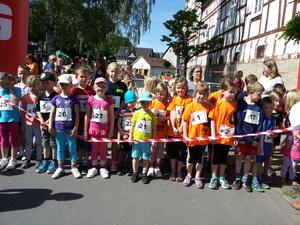 Start 500m Kinderlauf