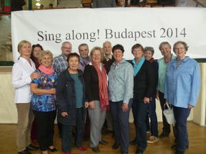 sing along in Budapest