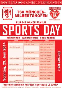 Sports Day in Milbertshofen