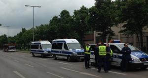 Bombendrohung in Augsburg