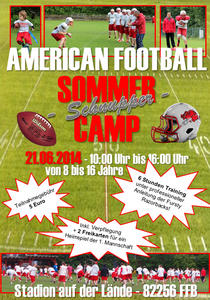American Football Summer Camp