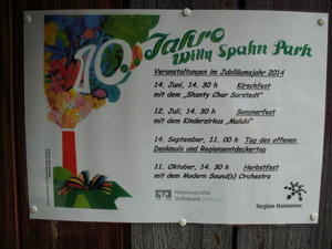Sommerfest im Willy-Spahn-Park