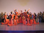 Aufführung des' Armenian State honored Ensemble of Dance & Song',