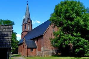 St.-Willehad-Kirche – in LECK/Schleswig