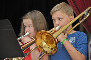 Let's play together: Konzert der Frankenberger Musikschule am 4. 7. 2014