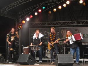 Boptown Cats beim Marburger Stadtfest