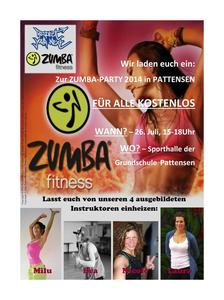 Zumba(R) Fitness Party Pattensen