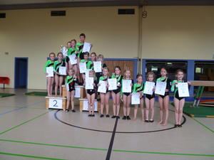 Turn-Club-Cup 2014 im Kunstturnen